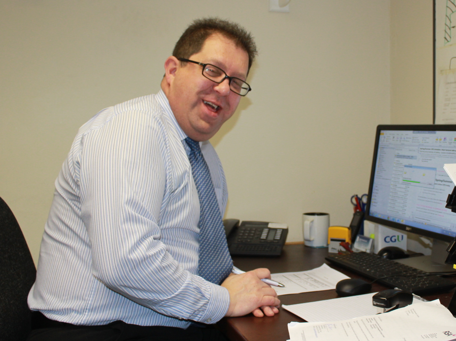 Paul Cawthorne Office Manager Burke Insurances Galway